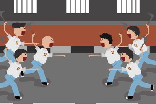 Dinonaktifkan jika siswanya tawuran, guru Cianjur protes