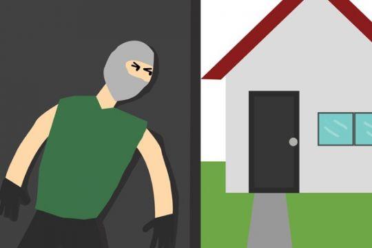 Polisi tembak pembobol rumah karena melawan