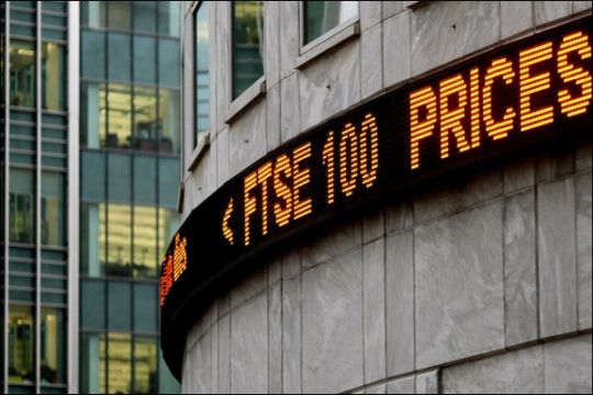 Saham Inggris berbalik jatuh, Indeks FTSE 100 anjlok 1,91 persen