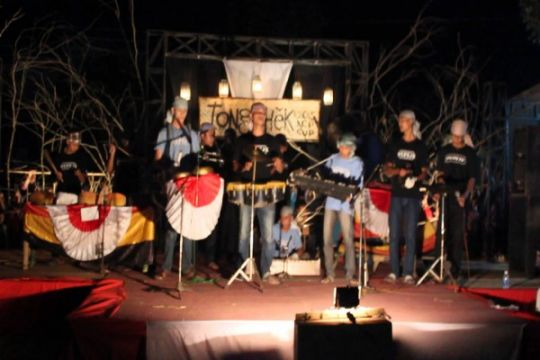 Warga Kudus lestarikan musik tongtek Ramadhan