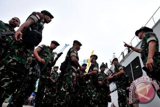 Lima anggota TNI luka diserang di Yambi Puncak Jaya