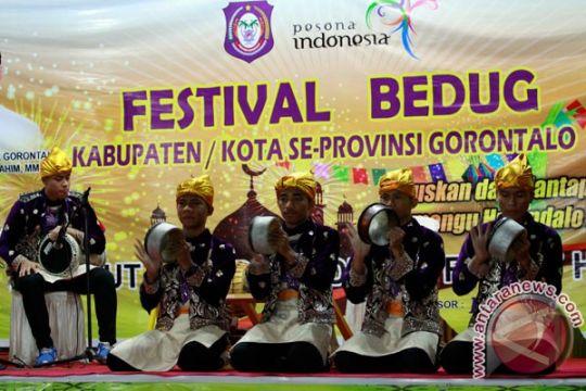 Festival Bedug Gorontalo libatkan negara tetangga