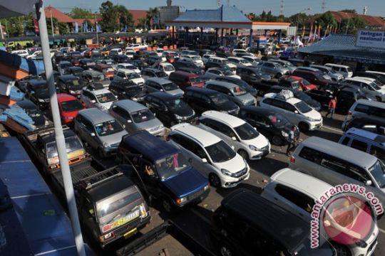 Ribuan kendaraan keluar Bali jelang Nyepi