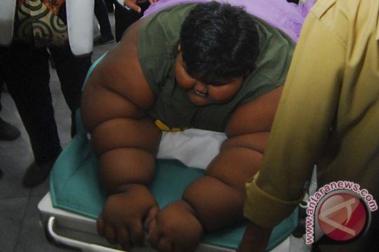 Tim dokter RSHS Bandung nyatakan berat badan Arya stabil