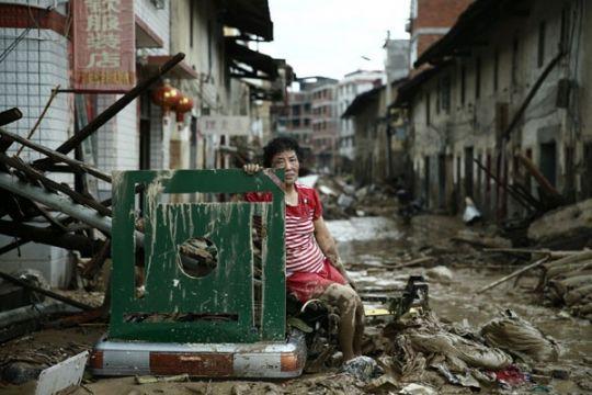 Bencana alam di China tewaskan lebih dari 800 orang