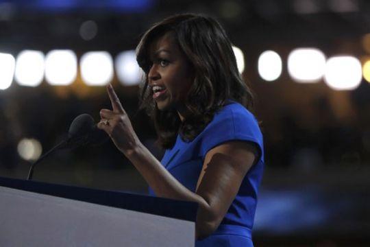 Michelle Obama beri kejutan di Grammy 2019