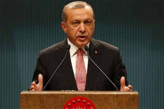 Erdogan serukan KTT OKI mengenai Jerusalem