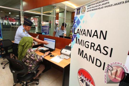 Kantor Imigrasi Sukabumi deportasi 30 WNA