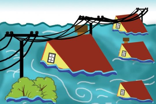 Banjir 3 meter rendam ratusan rumah di Aceh Selatan