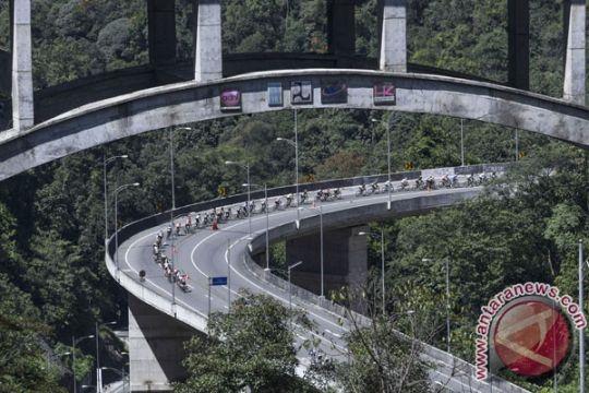 Kelok 9 menjadi ikon etape V Tour de Singkarak 2018
