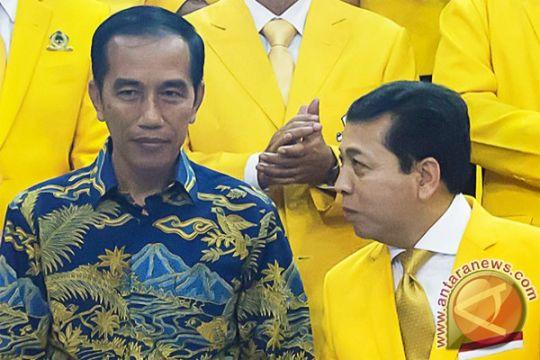 Golkar tak ubah dukungan pada Jokowi