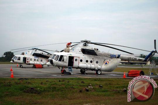 Dua helikopter padamkan karhutla di hutan lindung
