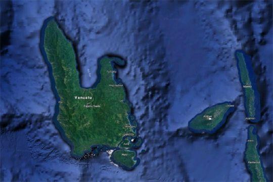 Gempa 6,4 magnitudo guncang Vanuatu
