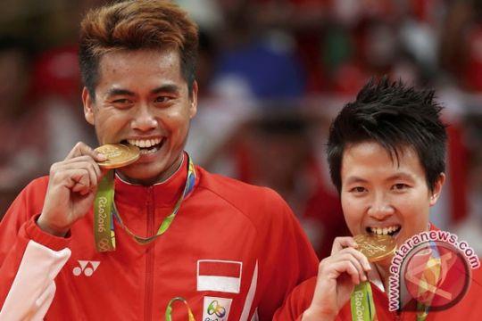 OLIMPIADE 2016 - Owi bagi ketegangan kepada Butet saat Olimpiade