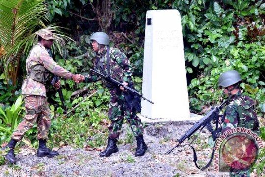 Beranda - Di perbatasan RI-PNG, TNI amankan sekilo ganja
