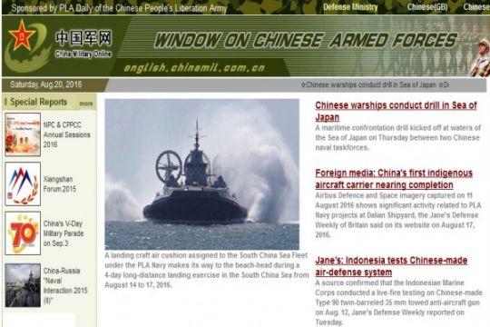 Kapal Induk China masuki wilayah Laut China Selatan
