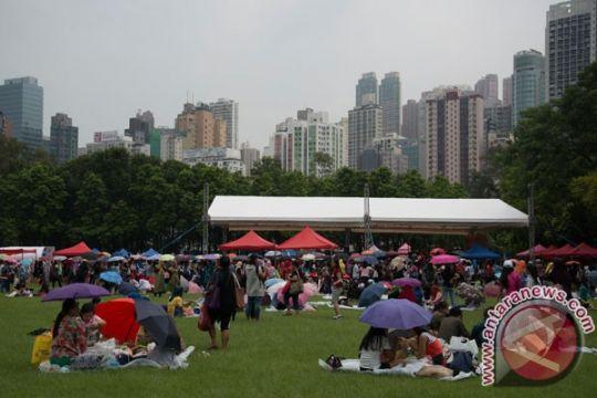 Ratusan TKI Hong Kong deklarasikan semangat kebangsaan