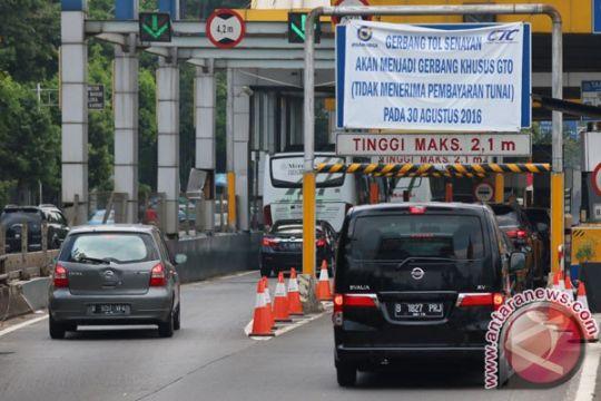 Polda Metro tunda simulasi buka tutup 19 pintu tol dalam kota