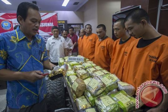 BNN gagalkan penyeludupan 73 kg sabu jaringan Malaysia