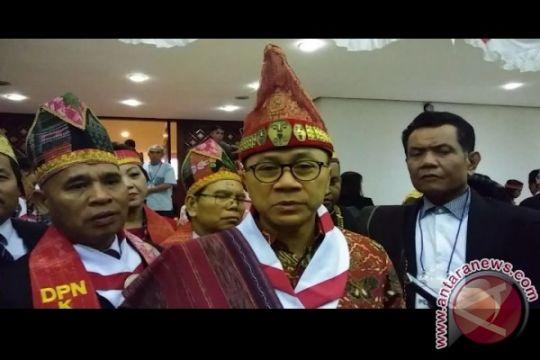 MPR dorong pemerintah perhatikan hak-hak masyarakat hukum adat