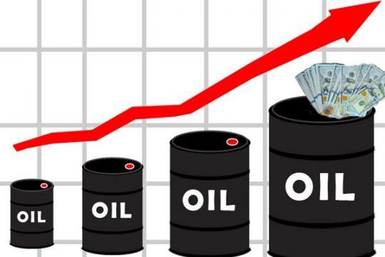 Produksi Saudi jatuh, harga minyak dunia naik