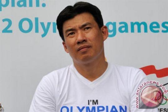 Pasangan olimpiade Susy-Alan bagi ilmu di Palembang