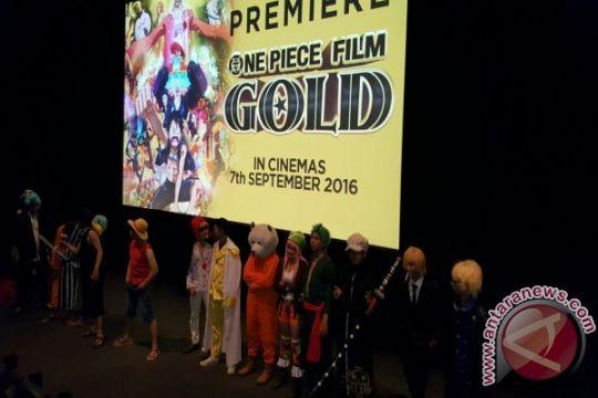 "Animasi ""One Piece Film Gold"" tayang di Indonesia besok"