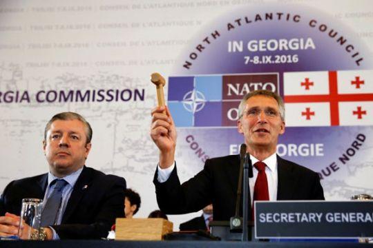 Georgia ceraikan Suriah karena akui separatis pro Rusia