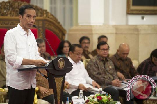 Presiden Jokowi gelar rapat kabinet bahas hasil kunjungan Tiongkok-Laos