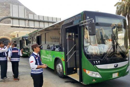 Laporan dari Mekkah - Bus shalawat stop beroperasi mulai 16 Agustus