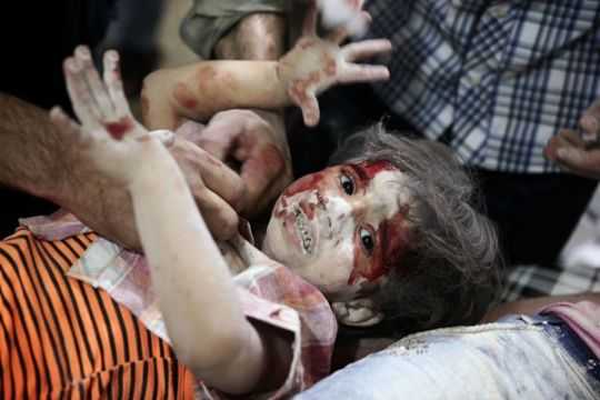 PBB: 7.000 lebih anak menjadi korban konflik di Suriah