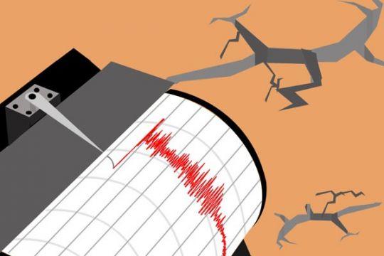 Gempa bumi 4,9 SR guncang Mamuju tengah