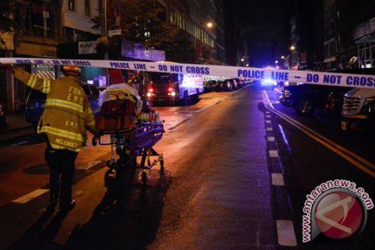 Polisi tahan tersangka pelaku peledakan di New York