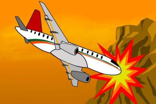Pesawat militer China kecelakaan di Guizhou