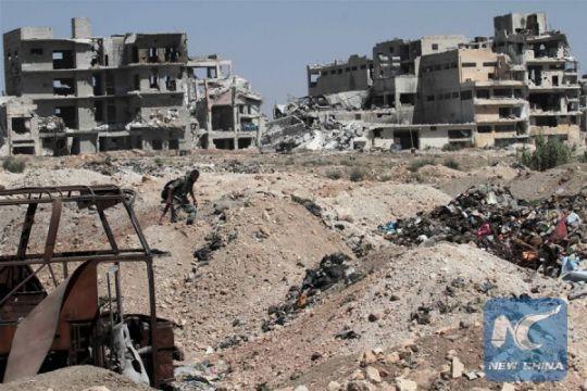 Suriah mobilisasi pasukan untuk operasi darat ke Aleppo
