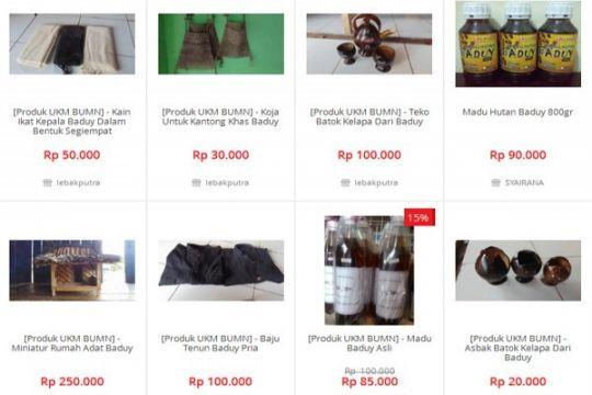 Produk Baduy laku keras melalui pemasaran digital