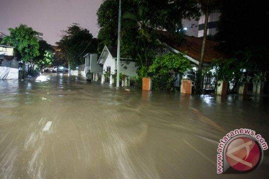 Dua desa di Bangka terendam banjir
