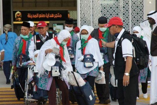 10 haji debarkasi Surakarta tertinggal di Arab Saudi