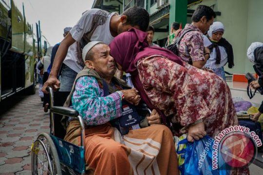 Jamaah haji diminta periksa ke puskesmas setiba di Tanah Air