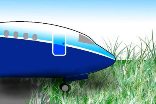 Pesawat Lion Air tergelincir di Pontianak, seluruh penumpang selamat