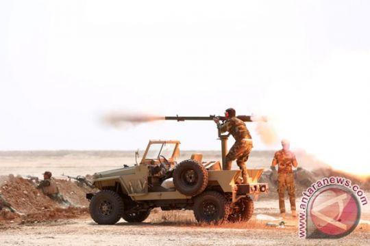 Paramiliter Irak bebaskan pangkalan udara di barat Mosul