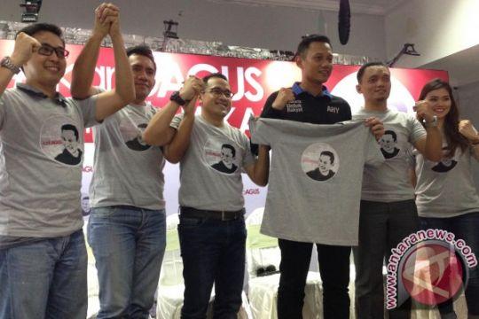 Agus Yudhoyono deklarasikan tim relawan karibAGUS