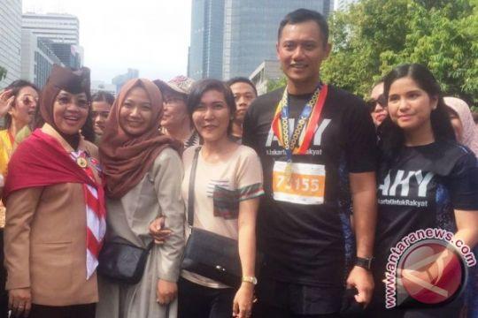 Agus Yudhoyono ingin lestarikan Batik Betawi (video)