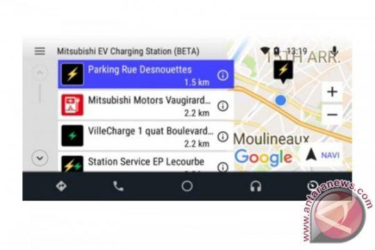 Mitsubishi kenalkan aplikasi stasiun pengisian daya mobil listrik