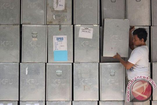 KPU Sulteng minta penundaan pengiriman logistik pemilu