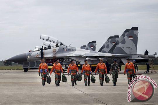 Sukhoi Su-27/30 MKI TNI AU gladi puncak Angkasa Yudha 2016