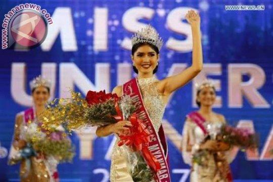 Zun Than Sin dinobatkan jadi Miss Myanmar 2017
