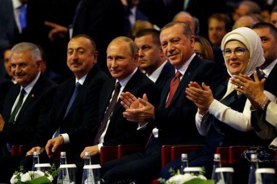 Erdogan dan Putin sepakat selenggarakan KTT Suriah di Istanbul