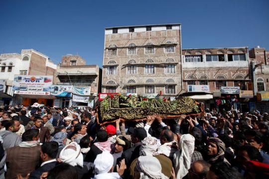 Koalisi pimpinan Saudi klaim gagalkan serangan Houthi