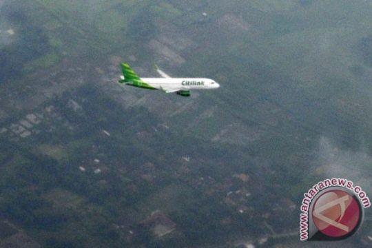 Citilink mendarat perdana di bandara Kertajati